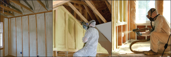 Roof Coating and Spray Foam Insulation